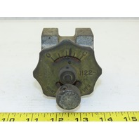 "North American MFG 1122-2 Manual Butterfly Valve 1-1/4"" NPT"