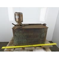 Doerr 1/4Hp 220V 3Ph Pedestal Dewatering Oil Skimmer Mobile Pump Tank