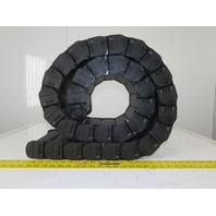 """igus E2 Series R 58 7' Enclosed Energy Chain Cable Carrier  1.97"""" Tall x5.91"""" ID"""