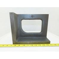 "Challenge 8""x10""x5-1/2"" Cast Iron 90° Angle Plate/Block Machinist Set Up Fixture"
