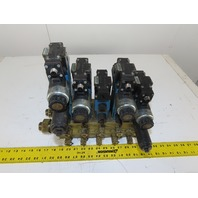 Rexroth 4WE6J61 4/3 Way Hydraulic Valve Regulated Check Assembly