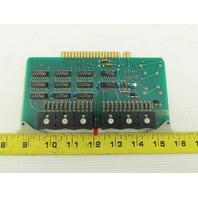 Futronix 1964 ECS Output Card Circuit Board PCB