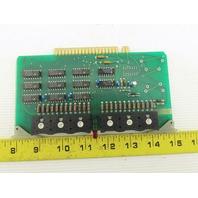 Futronix 2013 ECS Output Card Circuit Board PCB