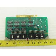 Futronix 2015 ECS Output Card Circuit Board PCB