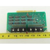 Futronix 2081 ECS Output Card Circuit Board PCB