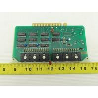 Futronix 2086 ECS Output Card Circuit Board PCB