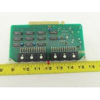 Futronix 2190 ECS Output Card Circuit Board PCB