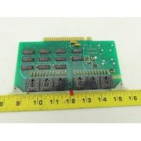 Futronix 2208 ECS Output Card Circuit Board PCB