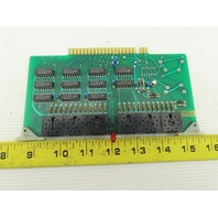 Futronix 2265 ECS Output Card Circuit Board PCB