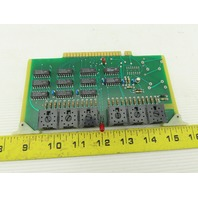 Futronix 2325 ECS Output Card Circuit Board PCB