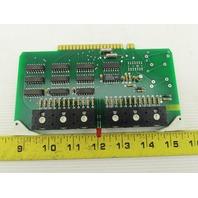 Futronix 2478 ECS Output Card Circuit Board PCB