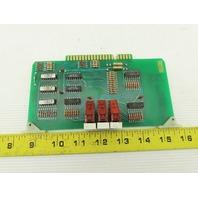 Futronix 1292 ECS Output Card Circuit Board PCB Numeric Readout