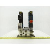 Rexroth 4WE6C61/EW110N9DK23L 4/2 Way Regulated Hydraulic Check Assembly 120V