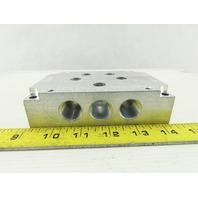 A A A SP4-3N Pneumatic Manifold Block