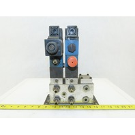 Rexroth 4WE6C61/EW110N9DK23L 4/2 Position Regulated Hydraulic Check Assembly