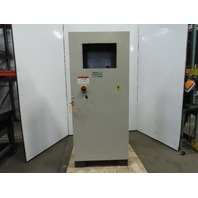"""Rittal 70""""x31-1/2""""x12"""" Floor Standing Electrical Enclosure Box W/30A Disconnect"""