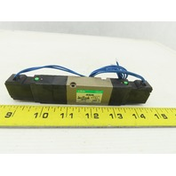 CKD 4KB249-00-AC100V 5/3 Position Double Solenoid Pneumatic Valve 110V Coil