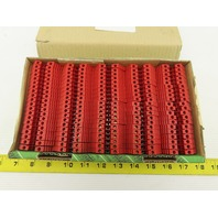 Conta Clip 1001/R RK2.5-4R Feed Through Terminal Block Red Lot Of 100