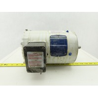 Baldor VWDM3538 1/2Hp 1725RPM 230/460V 56C Washdown Duty Electric Motor