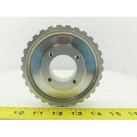 "5.21.130-6e 444132 Aluminum Timing Pulley 1-9/16"" Bore 4-3/4"" Diameter 1"" Wide"