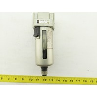 SMC AFM4000-03C-R Mist Separator With Auto Drain