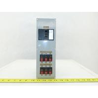 Fuji NRAB 111X EA33M 24A Circuit Breaker Main 5-15A Secondary Breaker Panel