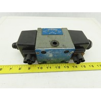 Continental VS12M-3A-G-33L-H 5/3 Position Hydraulic Directional Valve 120V Coil