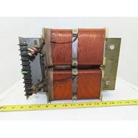 Siemens 4AN44 50-10A 460V Primary 380V Secondary 4 kVa Reactor Transformer
