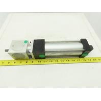 "Numatics ZB-863448-1 Pneumatic Cylinder 2"" Bore 5"" Stroke W/BMA/L-A Rod Lock"