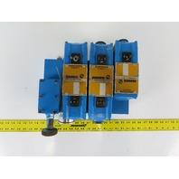 Rexroth 4WE10E21 4/3 Position Solenoid Directional Regulated Valve Bank 110V