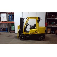 """Hyster S120FTS 12000 Lbs. 6 Ton Capacity 9' Lift 48"""" Fork Gasoline Forklift"""
