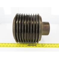 "100mm ID Bearing x 20T 2-1/2"" ID Spline Gear 9 Belt Drive Pulley"