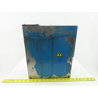 "11"" x 13"" x 6"" Electrical Enclosure Screw On Door J-Box Junction Box"
