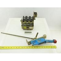 Square D Class 9422 Type RN-1 FAL36100 100A Machine Main Breaker Operator Switch