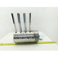 Kitako MT4-170 Hydraulic Spindle Motor 9 Port 60mm Bore From CNC Lathe