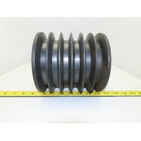 "6C6.0SF 6-1/2"" OD 6 Groove C Type Belt Sheave Pulley SF Bushing Bore"