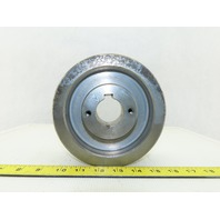 "6-3/8"" OD 5 Groove 3V Type Belt Pulley Sheave 1-9/16"" Bore"