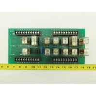 050787 Rev 2 Relay Circuit Board Assembly PCB