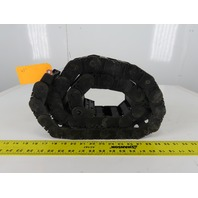 """Igus 250.05.055 47"""" Long Cable Carrier Energy Chain W/Ends 2-1/4"""" x 1"""" ID"""