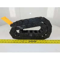"""Igus 250.05.055 57"""" Long Cable Carrier Energy Chain W/Ends 2-1/4"""" x 1"""" ID"""