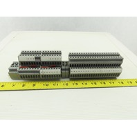 EATON UTT4 38 Gray DIN Rail Terminal Blocks