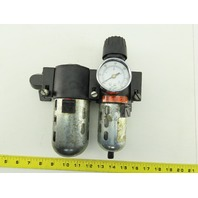 Wilkerson CB6-03-00 Inline Air Filter Lubricator Regulator FRL 0-125 PSI