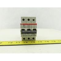 ABB S 23 3 Z63A VDE 0660 3 Pole Circuit Breaker 277/480V