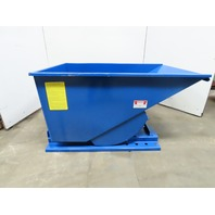 Iron Bull Bull Jr. Series Self Dumping Trash Scrap Hopper 3/4 Yard Capacity