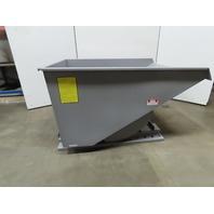 Iron Bull 2 Yard Big Bull 2000# Capacity Self Dumping Trash Scrap Hopper