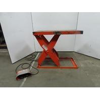 "Lee 36-30-Mod 3000Lb Scissor Lift Table 48x24"" 460V 3Ph 7""x43"" HT."