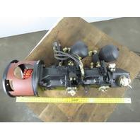 Brueninghaus AV10 0140 FE1D/31R-PSD12K07 Hydraulic 3 Stack Pump Unit