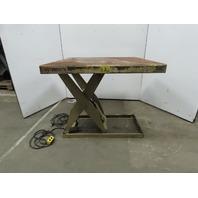 Southworth 2000 Lb 48x48 Hydraulic Scissor Lift Table 115 120V 1Ph single phase