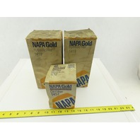 NAPA 1452 1419 Gold Hydraulic Filter Mixed Lot Of 3