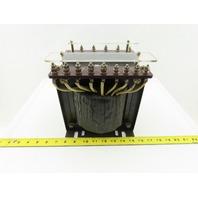 Daiwa Dengyo TF-2000 220V Primary 110V Secondary 2kVa 1Ph 50/60Hz Transformer